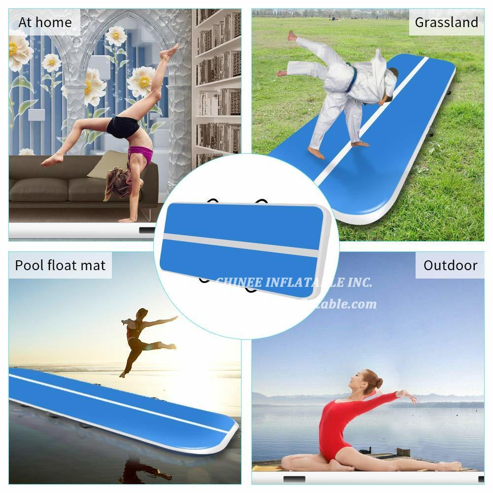 AT1-058  Inflatable Gymnastics Airtrack Tumbling Air Track Floor Trampoline For Home Use/training/cheerleading/beach