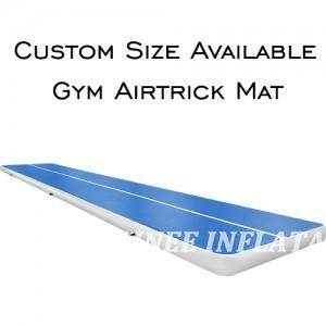 AT1-066 8m Air Track, Tumbling Mat, Inflatable Gymnastics Airtrack Mat, Air Floor Mat With Electric Air Pump For Training