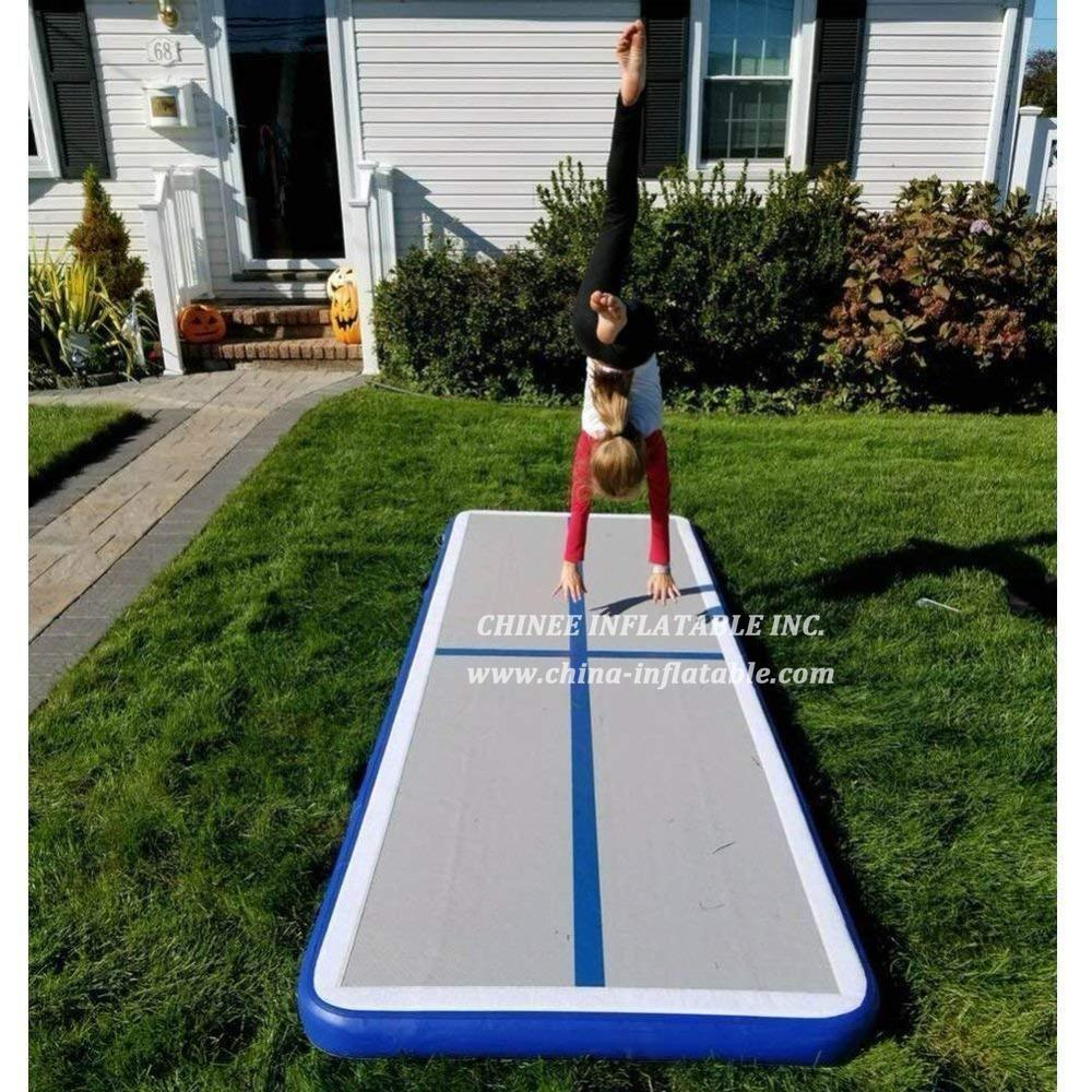 AT1-080  Inflatable Gymnastics Airtrack Tumbling Air Track Floor Trampoline For Home Use/training/cheerleading/beach