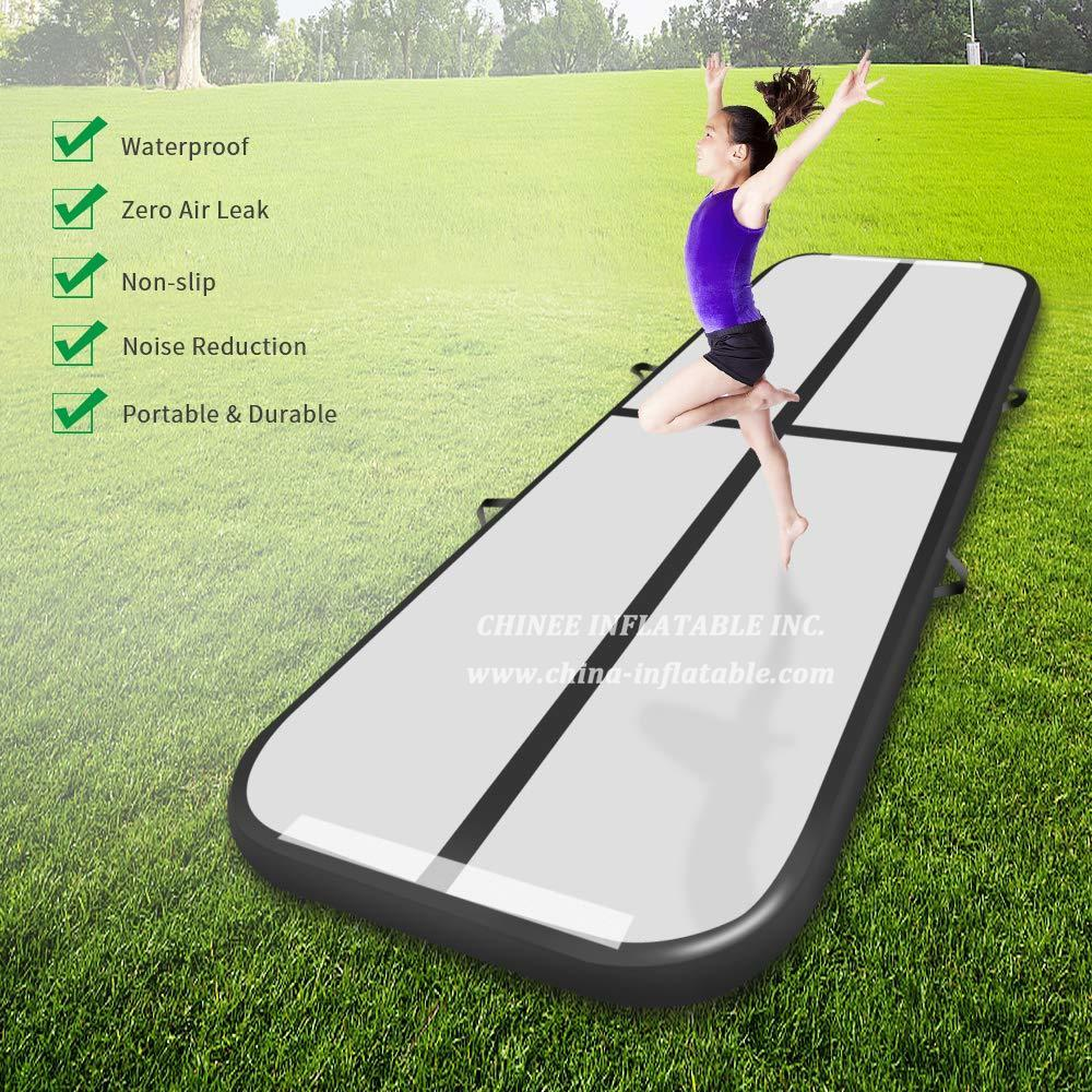 AT1-013 8m Inflatable Gymnastics Airtrack Floor Tumbling Air Track For Kids Free One Pump