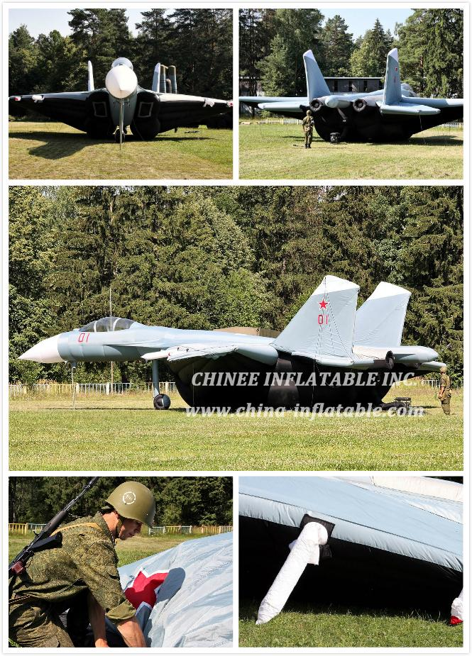 Aircraft_preparation - Chinee Inflatable Inc.