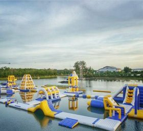 S30 Inflatable water park Aqua park Water Island from Chinee inflatables