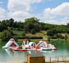 S34 Inflatable water park Aqua park Water Island from Chinee inflatables