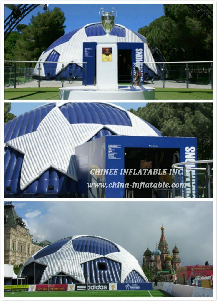 Champions League Dome in Rome - Chinee Inflatable Inc.