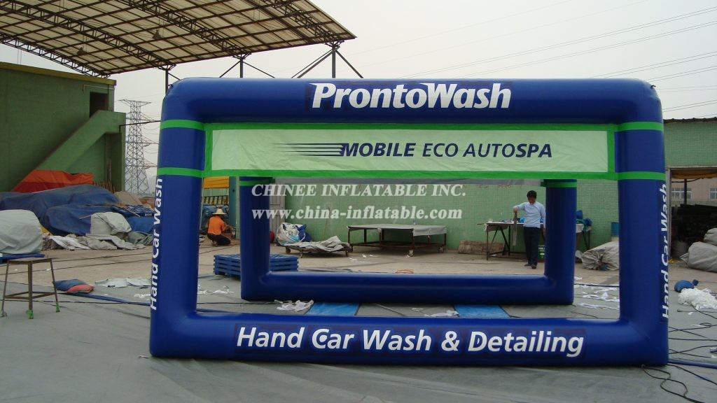 tent2-001 Inflatable car wash tent
