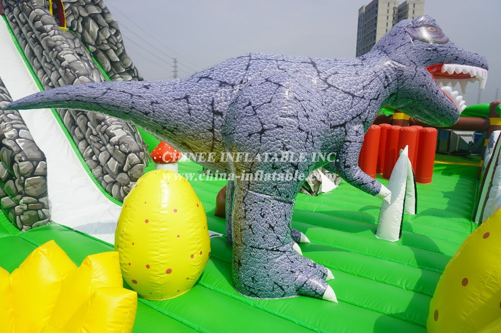 GF2-010 Inflatable dinosaur world