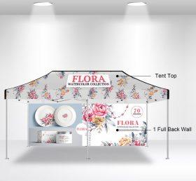 F2-10 10×20 1 Full Back Wall Folding Tent/Advertising Tent