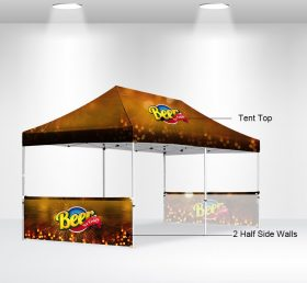 F2-11 10×20 2 Half Side Wall Folding Tent/Advertising Tent