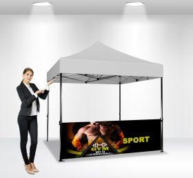 F2-13 10×10 Half Wall Folding Tent/Advertising Tent