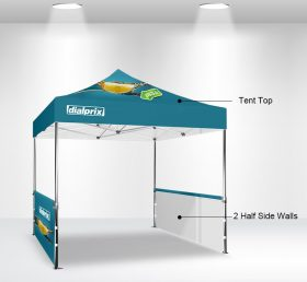 F2-2 10×10 2 Half Side Wall Folding Tent/Advertising Tent
