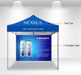 F2-3 10×10 1 Full Back Wall Folding Tent/Advertising Tent
