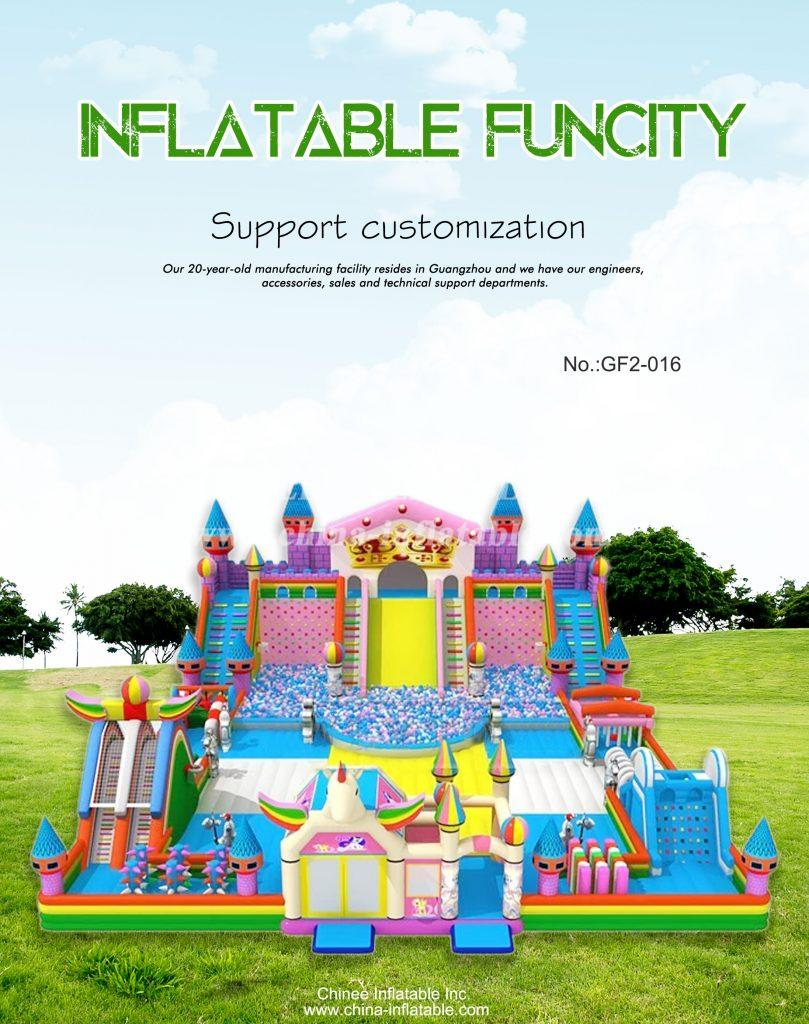 GF2-016 - Chinee Inflatable Inc.