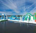 S31 Inflatable water park Aqua park Water Island from Chinee inflatables