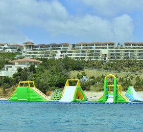 S36 Inflatable water park Aqua park Water Island from Chinee inflatables