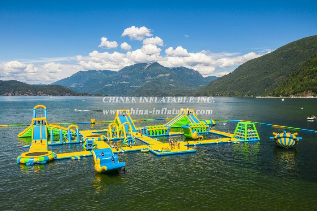 S29 Inflatable water park Aqua park Water Island from Chinee inflatables