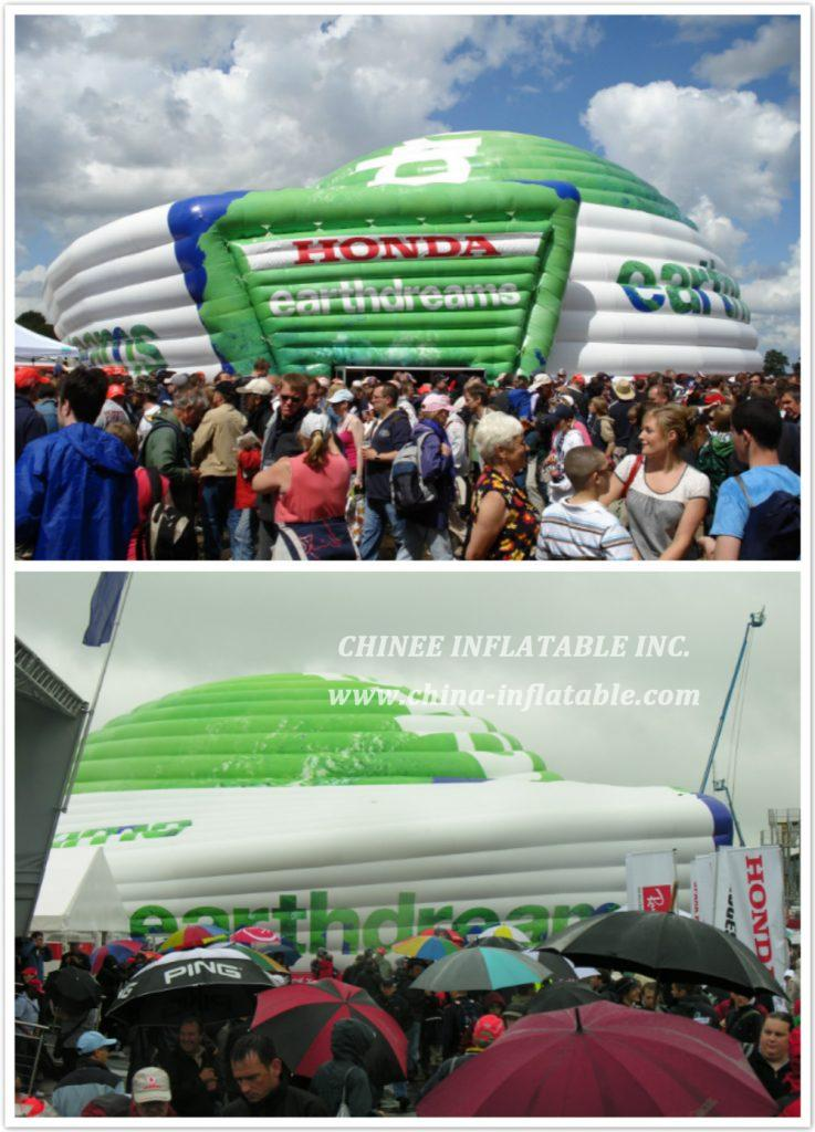 Honda F1 Earthdreams Dome - Chinee Inflatable Inc.