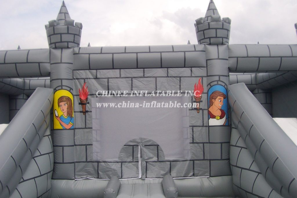 IC1-001 Inflatable Castle