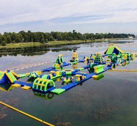 S32 Inflatable water park Aqua park Water Island from Chinee inflatables