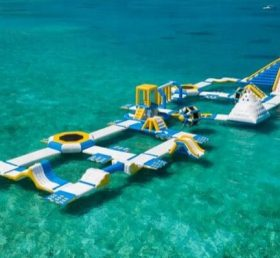 S27 Inflatable water park Aqua park Water Island from Chinee inflatables