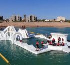 S45 Inflatable water park Aqua park Water Island from Chinee inflatables
