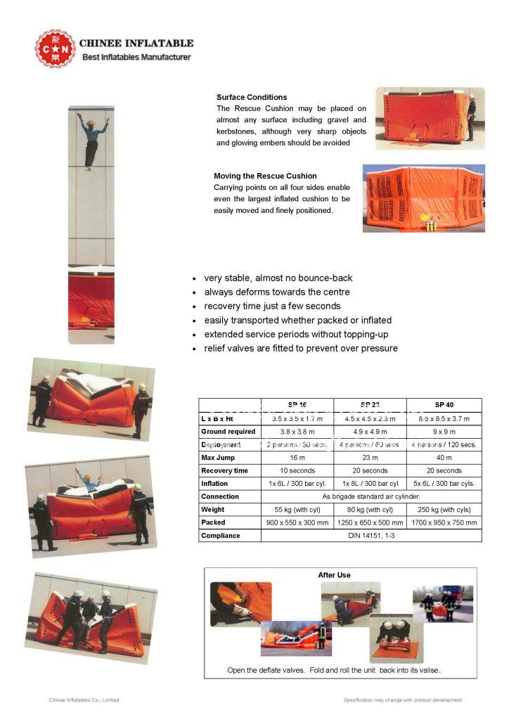 Rescue Cushion - Information Specifications_页面_2 - Chinee Inflatable Inc.