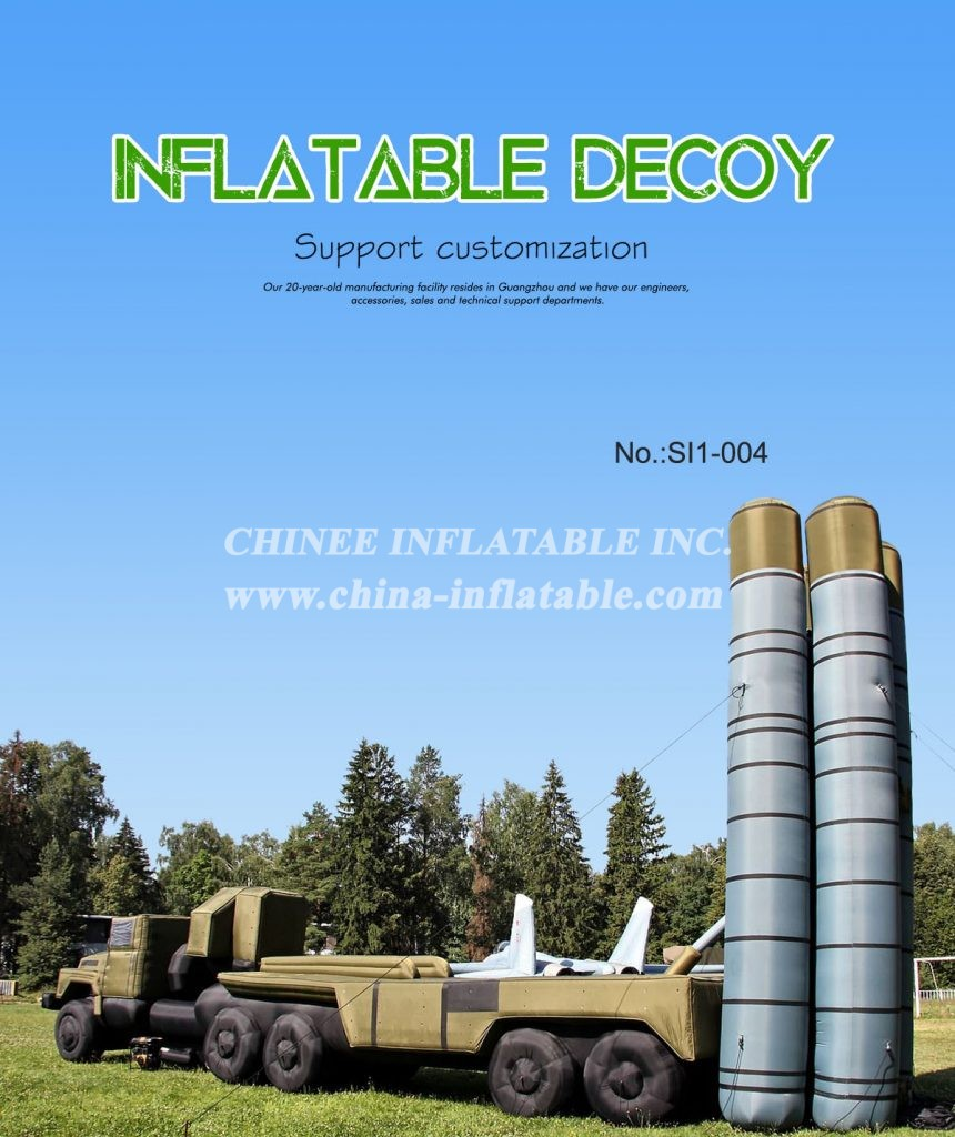 SI1-004 - Chinee Inflatable Inc.