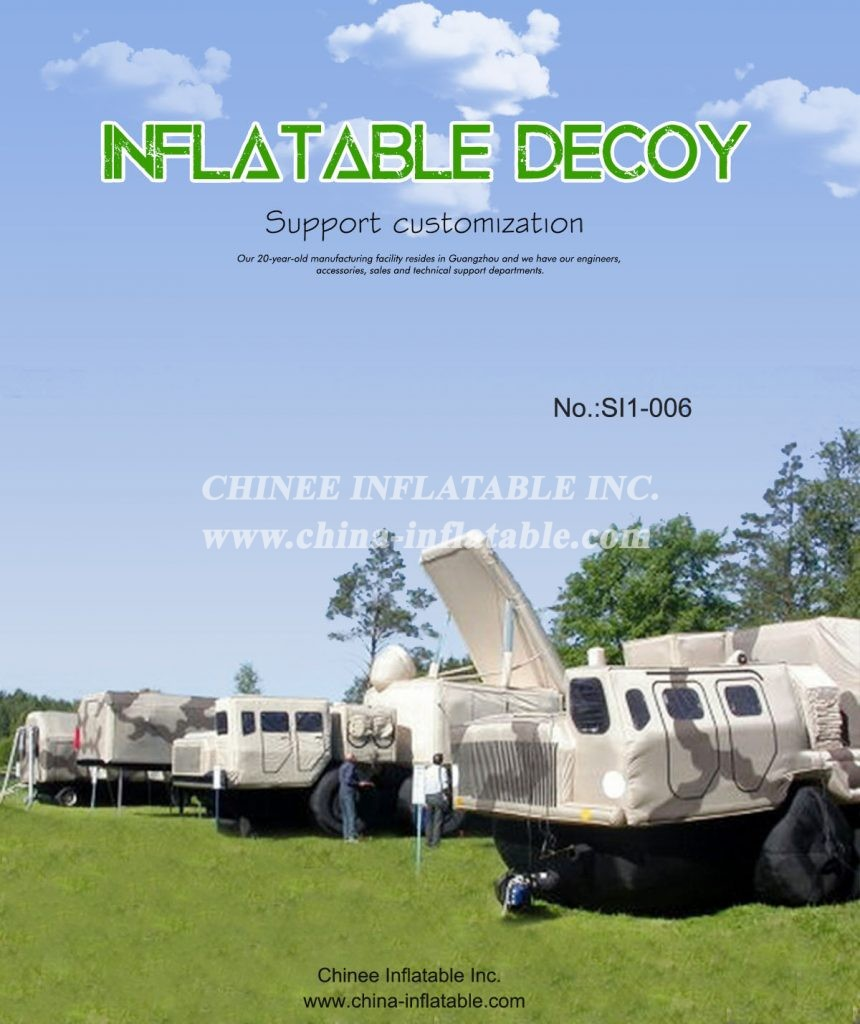 SI1-006 - Chinee Inflatable Inc.