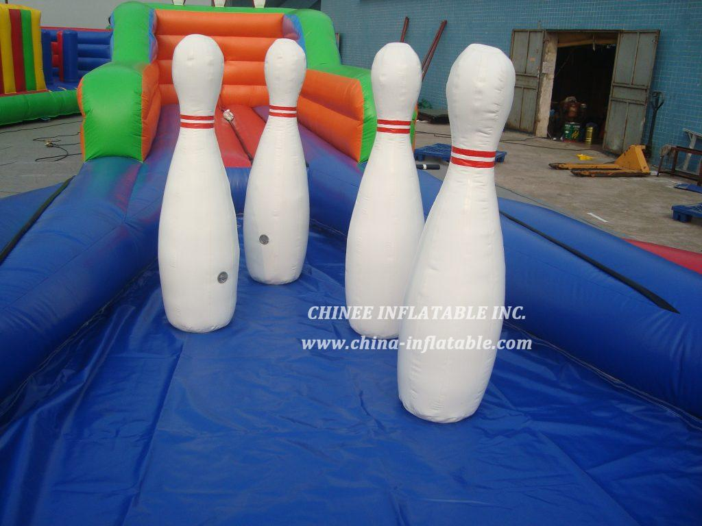 T11-642 bowling sport game