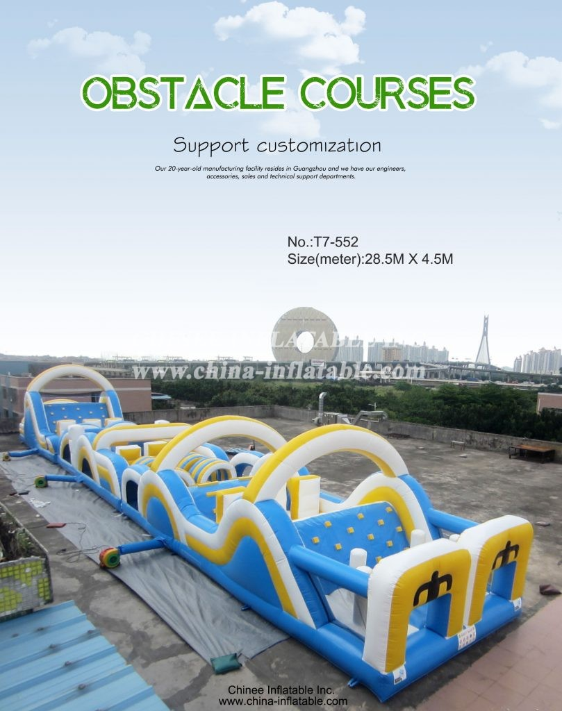 T7-552 - Chinee Inflatable Inc.