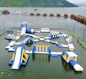 S33 Inflatable water park Aqua park Water Island from Chinee inflatables