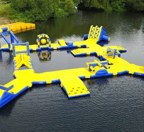 S47 Inflatable water park Aqua park Water Island from Chinee inflatables