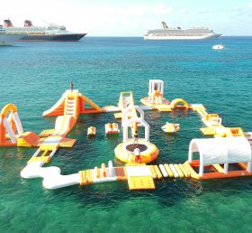 S49 Inflatable Floating water park Aqua park Water Island from Chinee inflatables