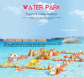 S20 Inflatable water park Aqua park Water Island from Chinee inflatables