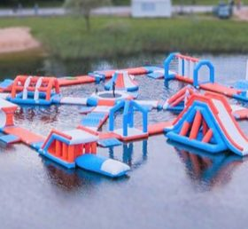 S24 Inflatable water park Aqua park Water Island from Chinee inflatables
