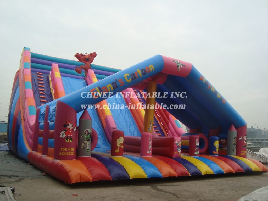 T8-3000 Inflatable Slide