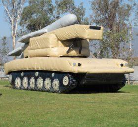 SI1-008 Inflatable 2K12 Kub (SA-6 Gainful) Missile Launcher