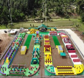 CR1-008 250 meter long obstacle course