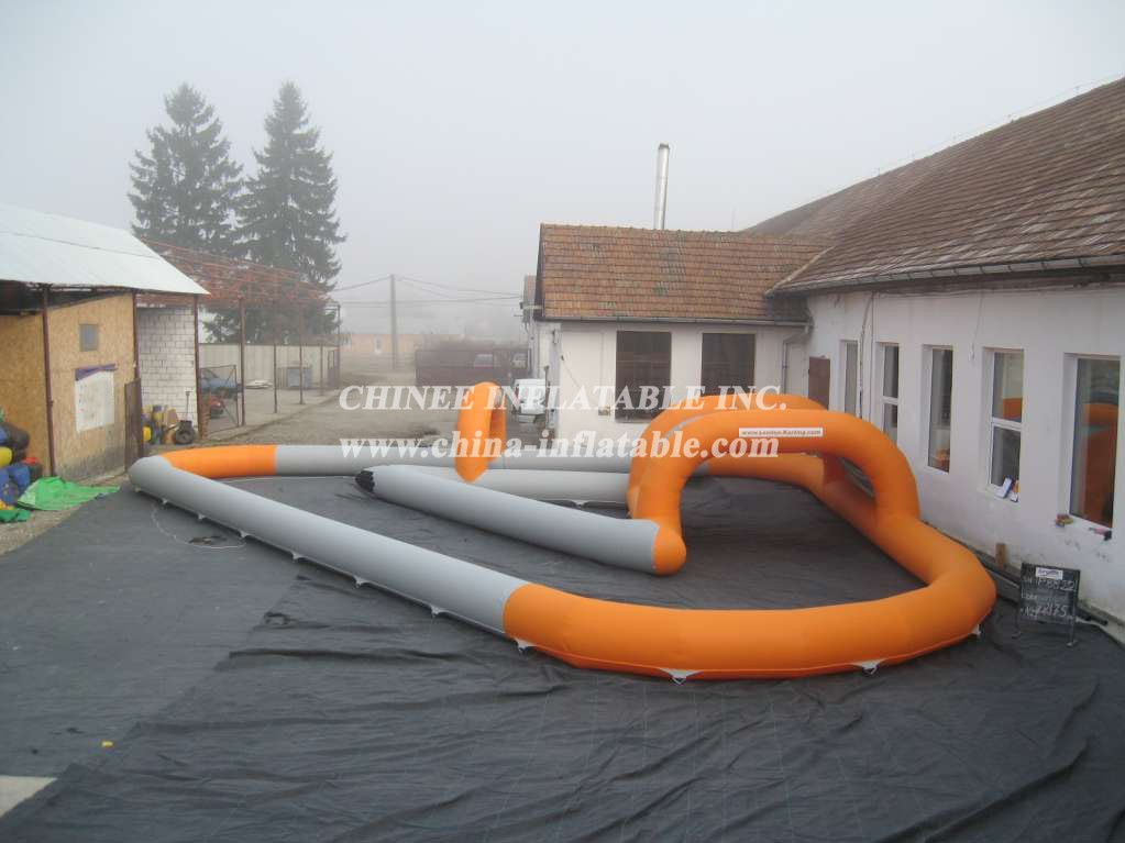 RT1-9 15m x 27m Rectangle Karting Track
