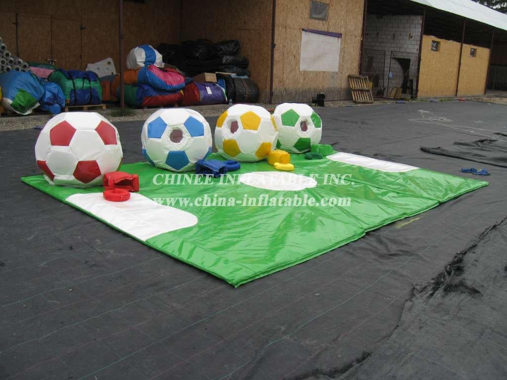 SS1-5 Adult Football Sumo Set 4 Suits 1 Mat