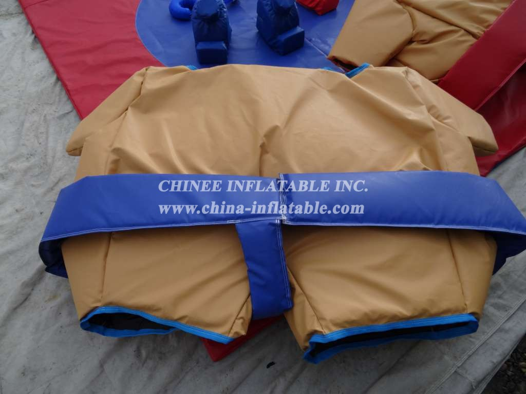 SS1-11 Twin Sumo Suit Adult Set with Mat