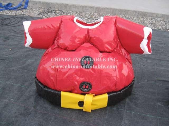 SS1-16 Adult Santa Sumo Suit