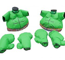 SS1-8 Adult Green Warrior Sumo Set