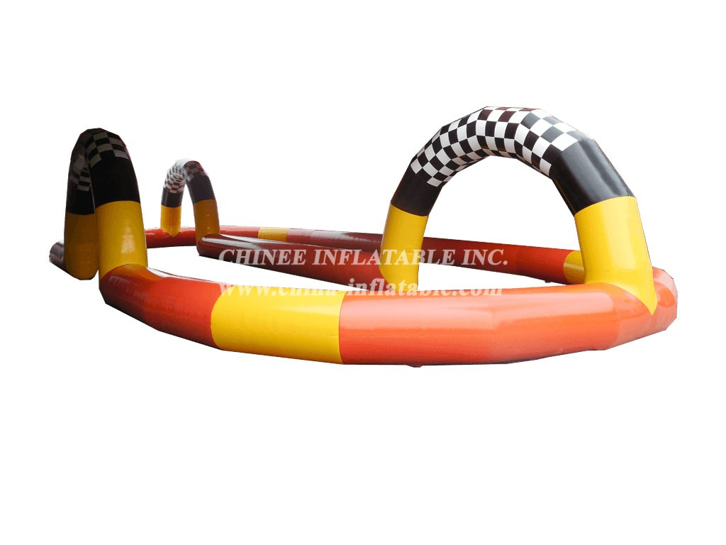 RT1-14 8m x 18m Dual Arch Oval Track