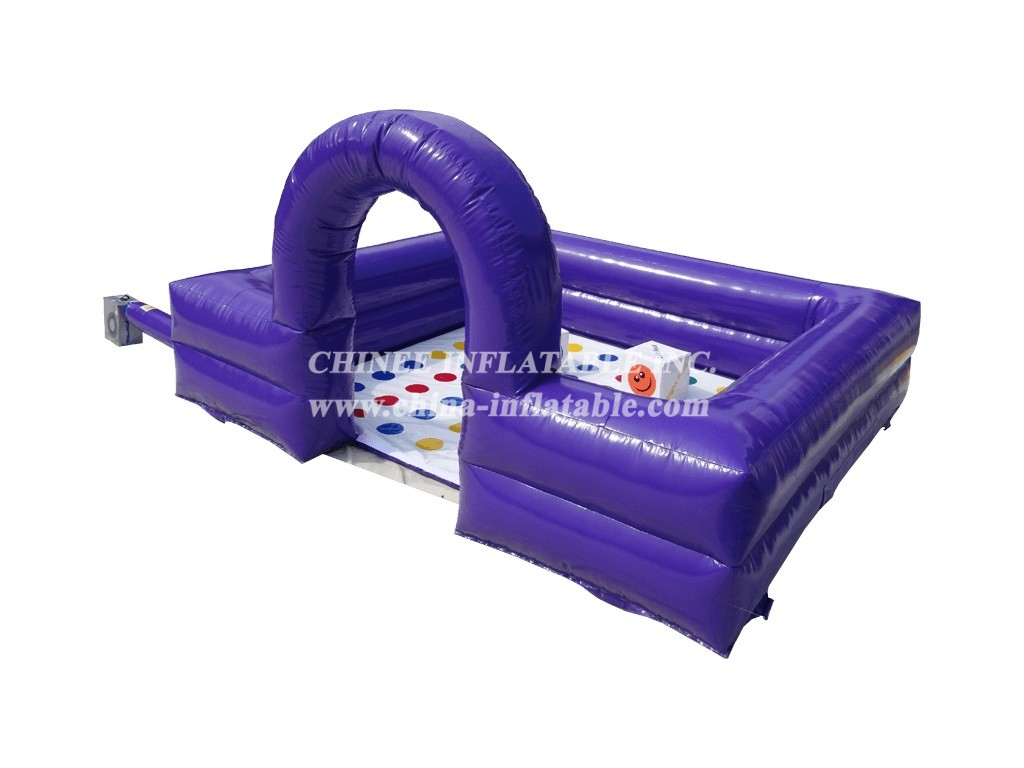 SS1-12 Sumo Ring with Twister Mat