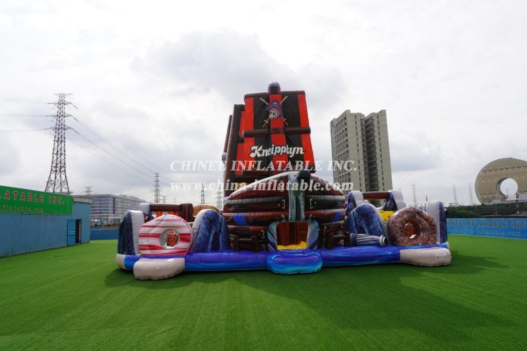 GS2-015 Giant Slide Pirate Challenge