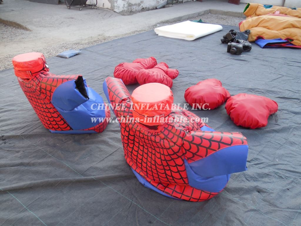 SS1-9 Adult Spider Warrior Sumo Set