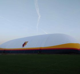 Tent3-013 115m x 78m double skin dome at the UCL Sports Ground for Watford FC