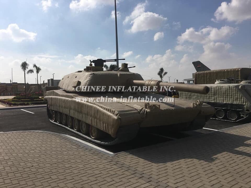 SI1-013 Inflatable M1 Abrams Tank