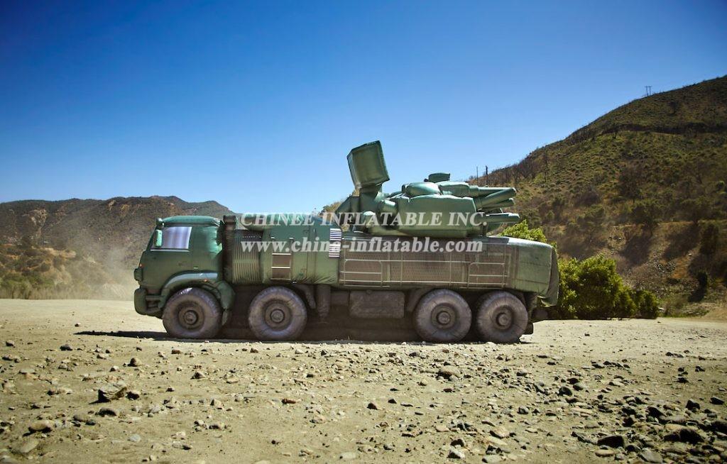 SI1-014 Inflatable Pantsir-S1 (SA-22 Greyhound) Vehicle