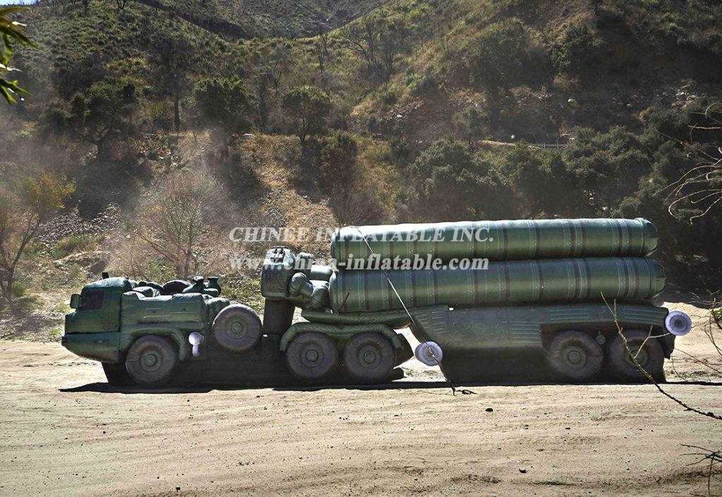 SI1-015 Inflatable S-400 Triumph (SA-21 Growler) Vehicle